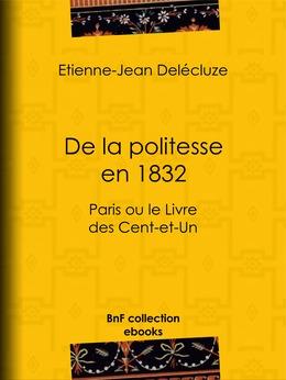 De la politesse en 1832