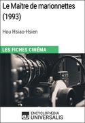 Le Maître de marionnettes de Hou Hsiao-Hsien