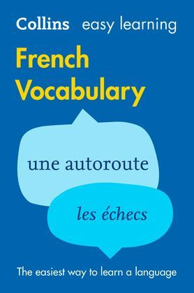 Easy Learning French Vocabulary (Collins Easy Learning French)