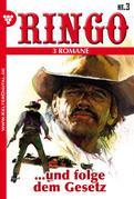 Ringo 3 Romane Nr. 3 - Western