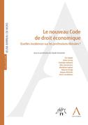 Le nouveau Code de droit économique
