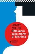 Riflessioni sulla morte di Mishima