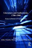 Literature and Authenticity, 1780-1900: Essays in Honour of Vincent Newey