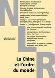 La Chine et l'ordre du monde