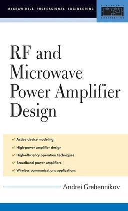 RF and Microwave Power Amplifier Design
