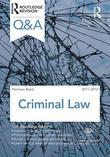 Q&A Criminal Law 2011-2012