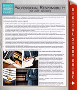 Professional Responsibility (Speedy Study Guide)