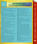 Microbiology Terminology and Definitions (Speedy Study Guide)