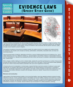 Evidence Laws (Speedy Study Guide)