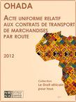 OHADA - Transport de marchandises par route