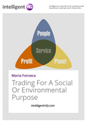 Trading For A Social Or Environmental Purpose