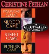 UC-Christine Feehan Ghostwalkers Novels 6-9