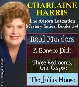 Charlaine Harris The Aurora Teagarden Mysteries Series 1-4