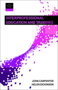 Interprofessional education and training