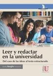 Leer y redactaren la universidad