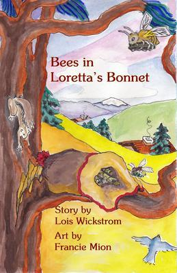 Bees in Loretta's Bonnet