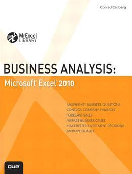 Business Analysis: Microsoft Excel 2010
