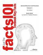 e-Study Guide for: Animal Structure and Function Volume 5 by Cecie Starr, ISBN 9780495558026