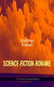 Science-Fiction-Romane (33 Titel in einem Buch)