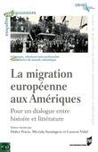 La migration européenne aux Amériques