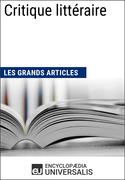 Critique littéraire (Les Grands Articles)