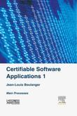Certifiable Software Applications 1: Main Processes