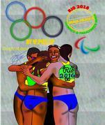 Brasil Pelada II :A Visual Guide to the Rio Olympics & Paralympics 2016