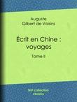 Écrit en Chine : voyages