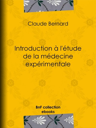 Introduction à la médecine expérimentale