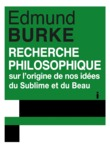 Recherche philosophique sur l'origine de nos ides du sublime et du beau