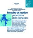 Hors-série | 2001 - Histoire et justice, panorama de la recherche - RHEI