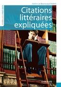 Citations littéraires expliquées