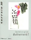 38 | 2002 - Qu'est-ce qu'un événement ? - Terrain