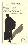 5 | 2002 - Migrations dans les Andes, Chili et Pérou - Alhim
