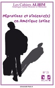 21 | 2011 - Migrations et violence(s) en Amérique latine - Alhim