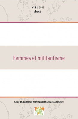 8 | 2008 - Femmes et militantisme - Amnis
