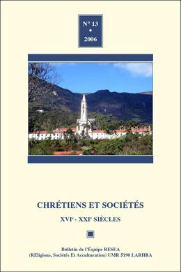 13   2006 - Varia - Chrétiens sociétés