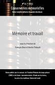# 11 | 2011 - Mémoire et travail - Conserveries Mémorielles