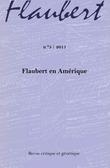 5 | 2011 - Flaubert en Amérique - Flaubert