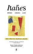 5   2001 - Italie et Etats-Unis - Interférences culturelles - italies