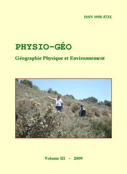 Volume 3 | 2009 - Varia - Physio-Géo