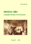 Volume 2 | 2008 - Varia - Physio-Géo