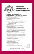 38-2   2007 - Articuler vie familiale et vie professionnelle: une entrée par les pères - RSA
