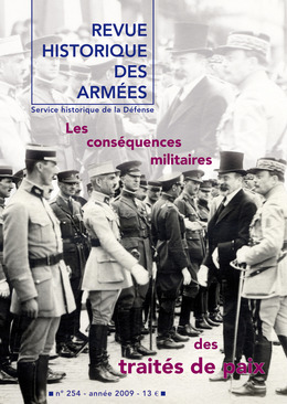 254 | 2009 - Les conséquences militaires des traités de paix - RHA
