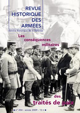 254   2009 - Les conséquences militaires des traités de paix - RHA
