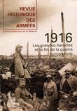 242 | 2006 - 1916, les grandes batailles et la fin de la guerre européenne - RHA