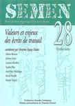 28 | 2009 - Valeurs et enjeux des écrits de travail - Semen
