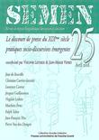 25 | 2008 - Le discours de presse au dix-neuvième siècle : pratiques socio-discursives émergentes - Semen
