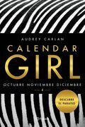 Calendar Girl Octubre, noviembre y diciembre