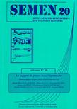 20 | 2005 - Le rapport de place dans l'épistolaire - Semen